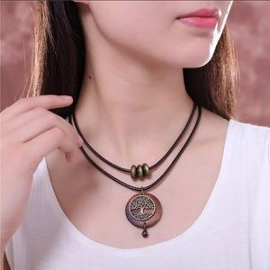Vintage Tree of Life Necklace